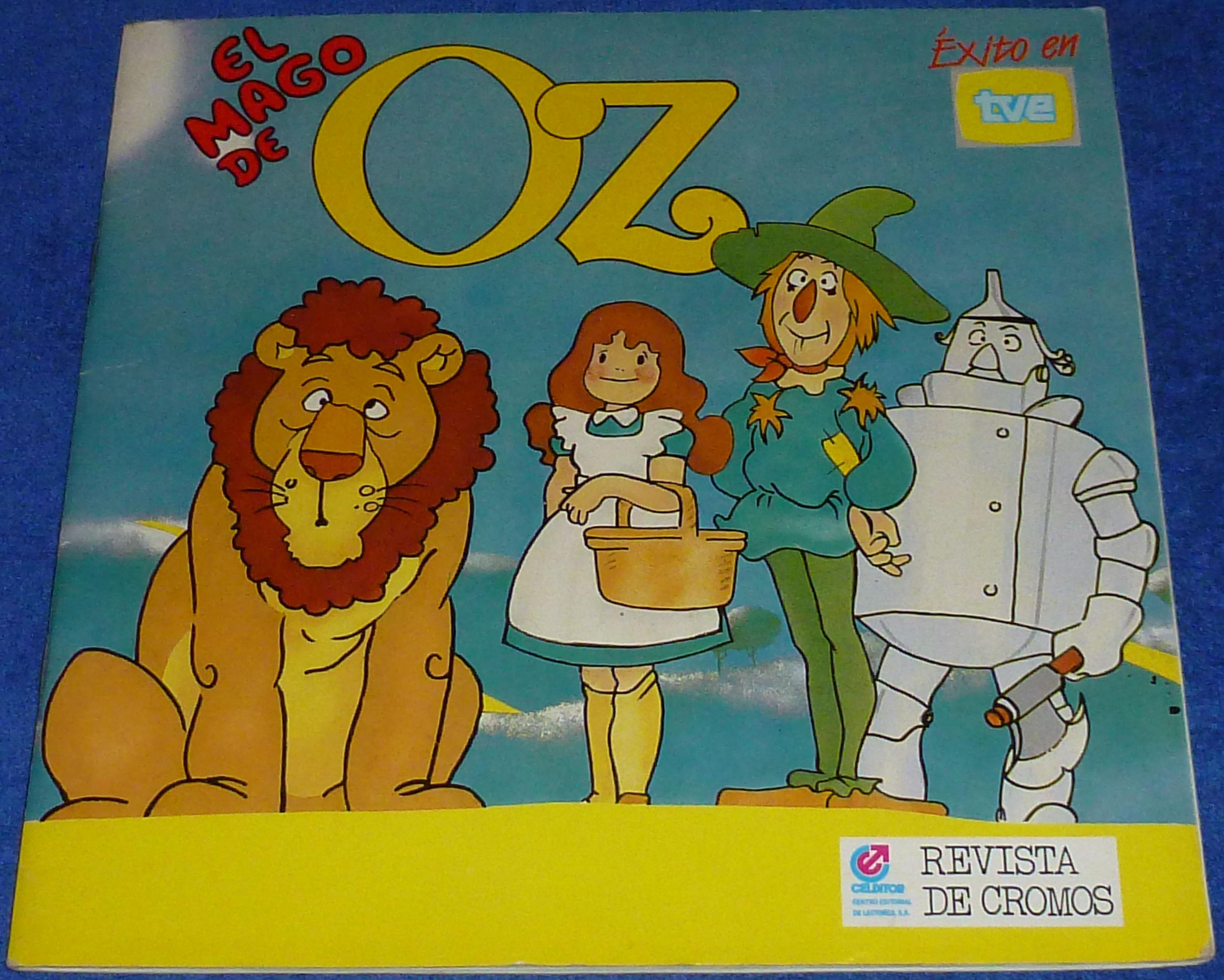 El mago de Oz  lbumes de cromos