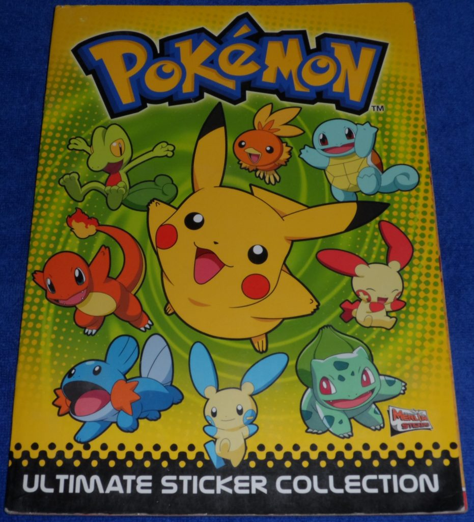 Pokemon Ultimate Sticker Collection 01